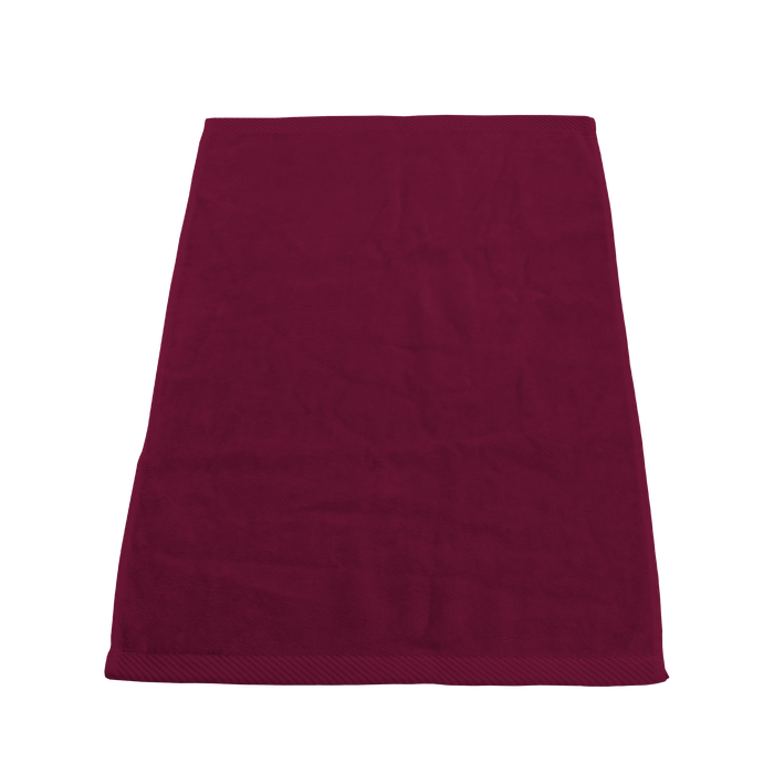 Maroon Ultraweight Colored Fitness Towel