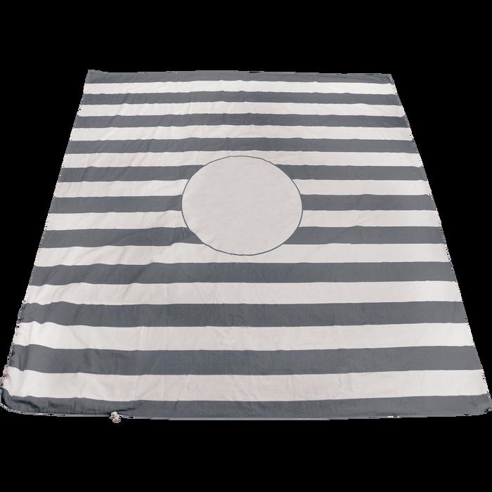 Grey Mainland Beach Blanket Bag