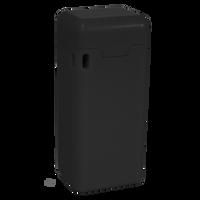 Black Reusable Straw with Custom Case Thumb