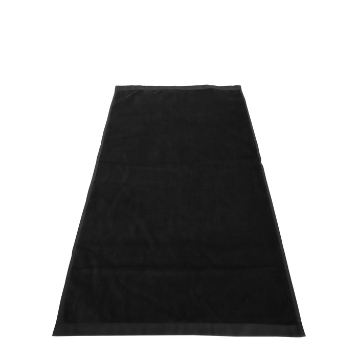 Black Flex Color Fitness Towel