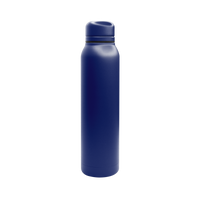 Matte Navy Vacuum Insulated Thermos Thumb