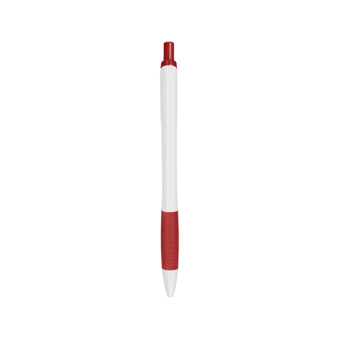 Red with Blue Ink Soft Grip Pen