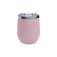 Matte Blush Vacuum Insulated Stemless Wine Tumbler Thumb