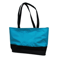 Turquoise Promenade Beach Bag Thumb