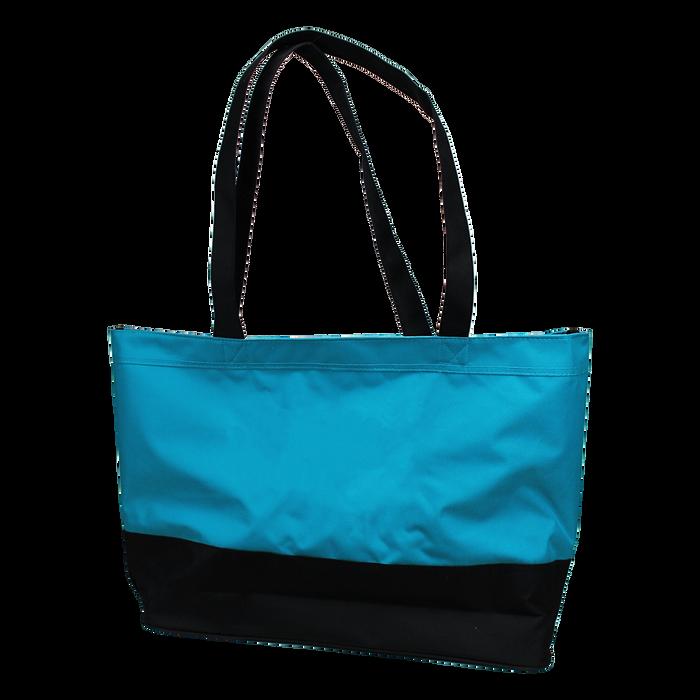 Turquoise Promenade Beach Bag