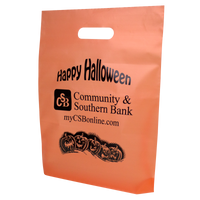 Orange Frosted Trick-or-Treat Bag   Thumb