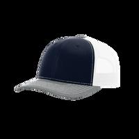 Navy/Grey/White Richardson Trucker Snapback Hat Thumb