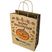 Kraft Paper Halloween Bag - DISCONTINUED Thumb