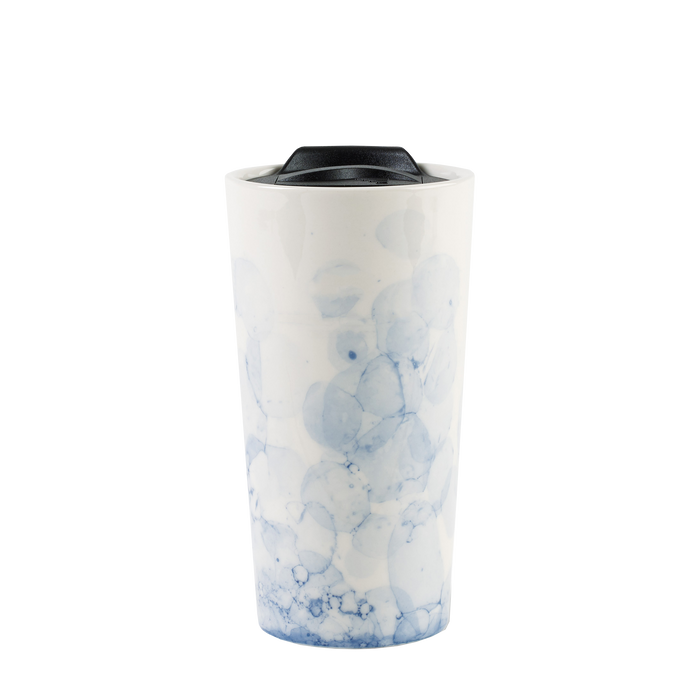 Blue Marble Ceramic Tumbler