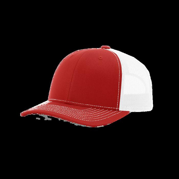 Red/White Richardson Trucker Snapback Hat