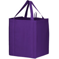 Purple Big Storm Grocery Bag Thumb
