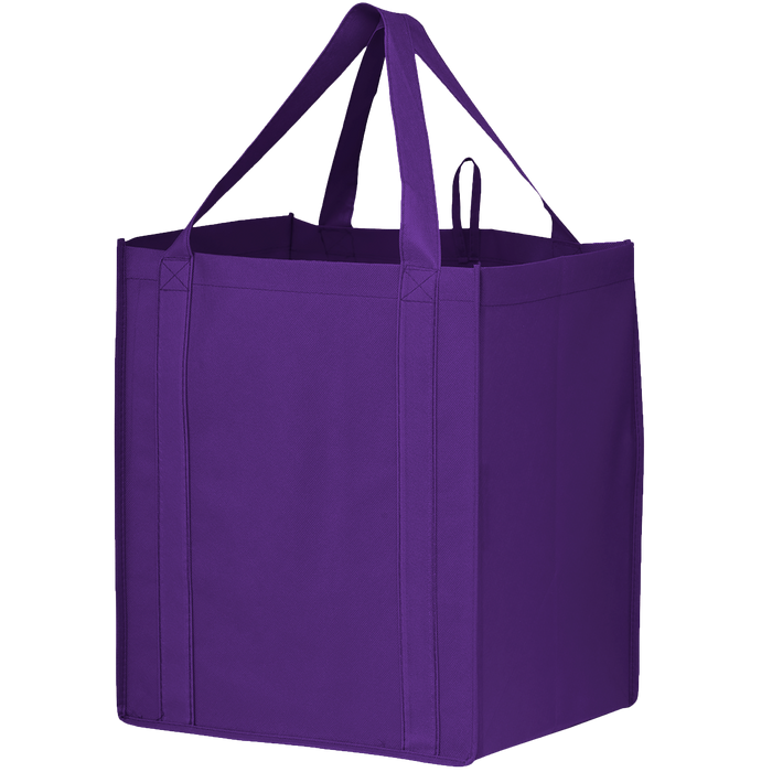 Purple Big Storm Grocery Bag