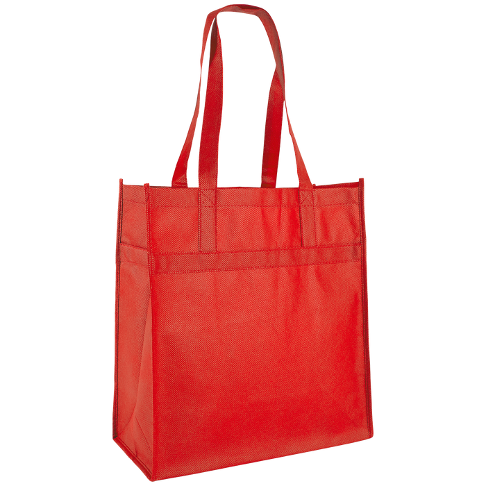 Red Little Tex Grocery Bag