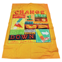 Large Full Color Heavyweight Beach Towel Thumb