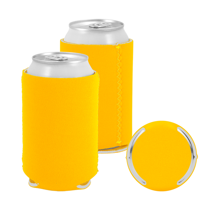 Golden Rod Premium Collapsible Neoprene Koozie
