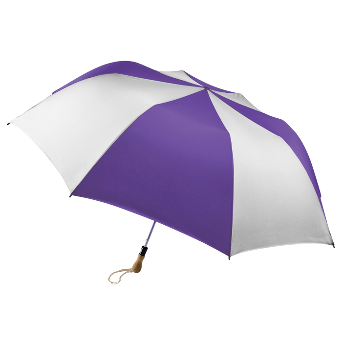 Purple/White Leo Umbrella