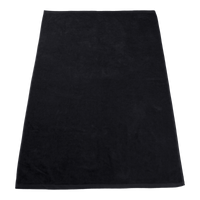 Black Seascape Color Beach Towel Thumb