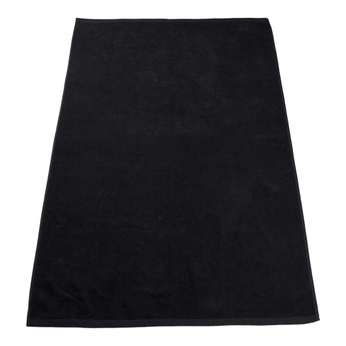 Black Seascape Color Beach Towel