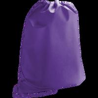 Purple Classic Drawstring Backpack Thumb