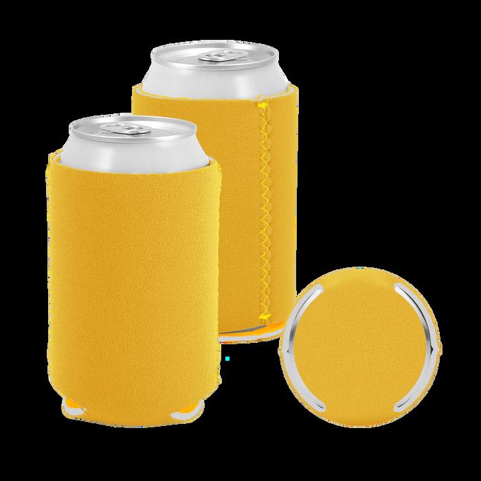 Mustard Premium Collapsible Neoprene Koozie