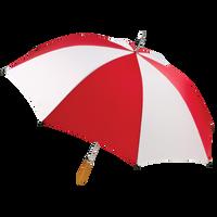 Red/White Jupiter Umbrella Thumb