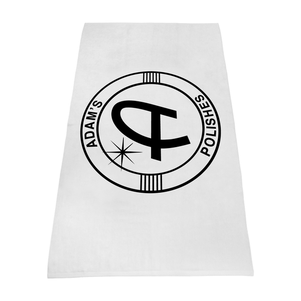 white beach towels,  imprinted beach towels,