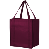 Burgundy Thrifty Grocery Tote Thumb