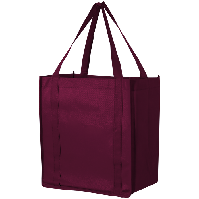 Burgundy Thrifty Grocery Tote