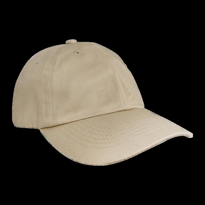 Khaki Cotton Dad Hat