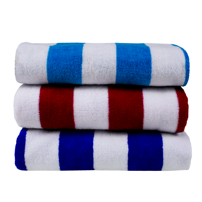 Basic Weight Cabana Stripe Personalized