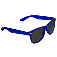 Transparent Blue Classic Color Sunglasses Thumb