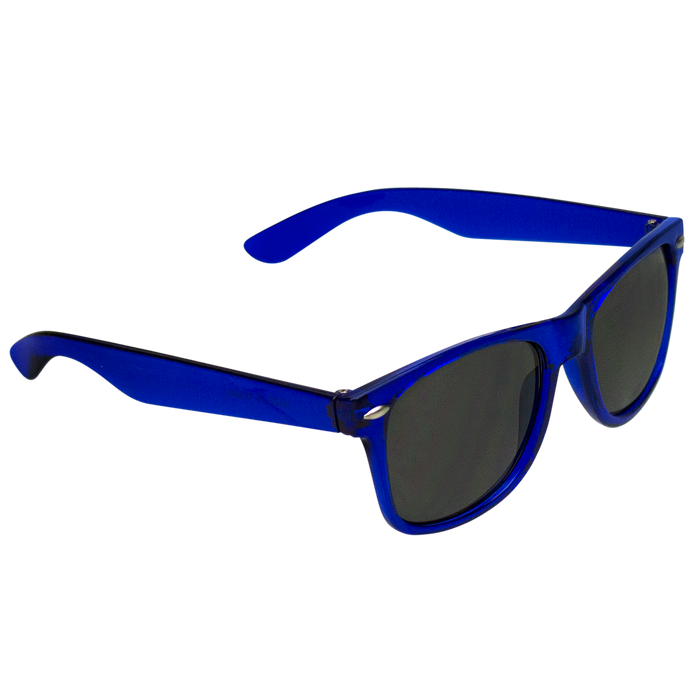 Transparent Blue Classic Color Sunglasses