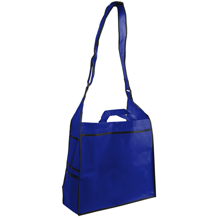 Royal Blue Messenger Tote Bag