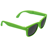 Lime Green Reno Folding Sunglasses Thumb