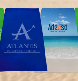 Custom Beach Towels are Mobile Billboards