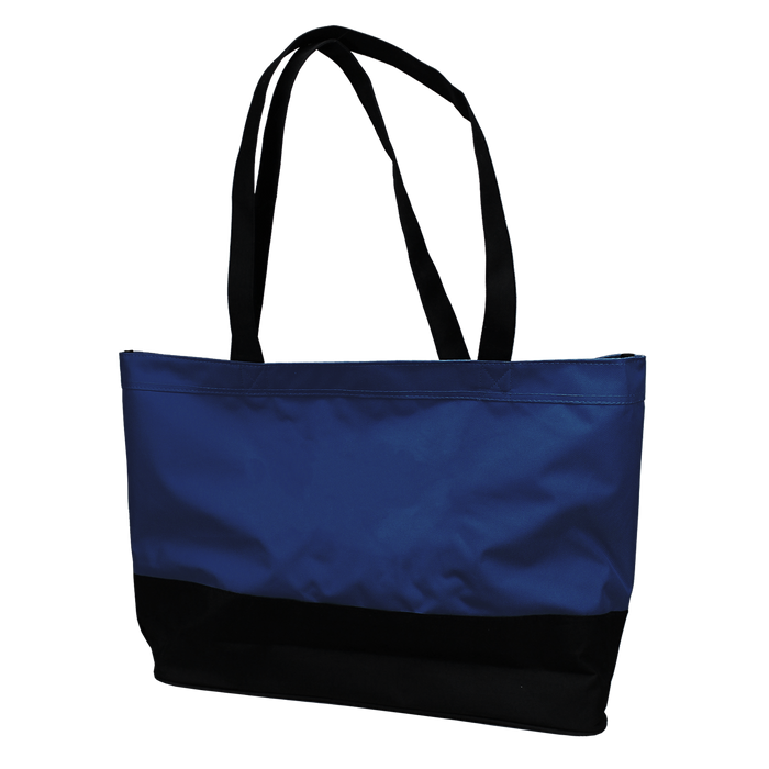 Navy Promenade Beach Bag