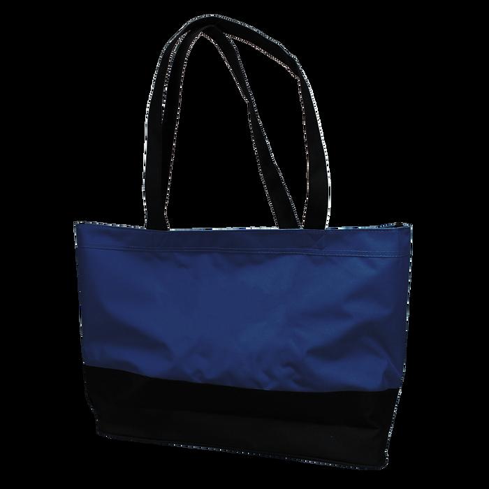 Navy Promenade Beach Bag