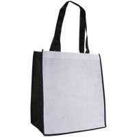White Full Color Standard Tote Bag Thumb
