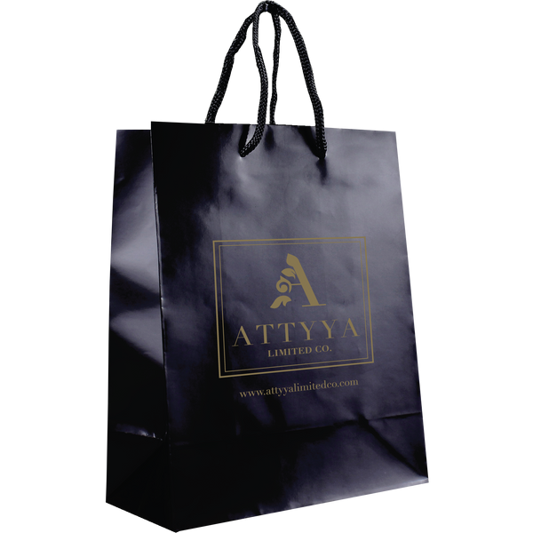 paper bags,  matte & glossy shoppers,