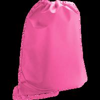 Bright Pink Classic Drawstring Backpack Thumb