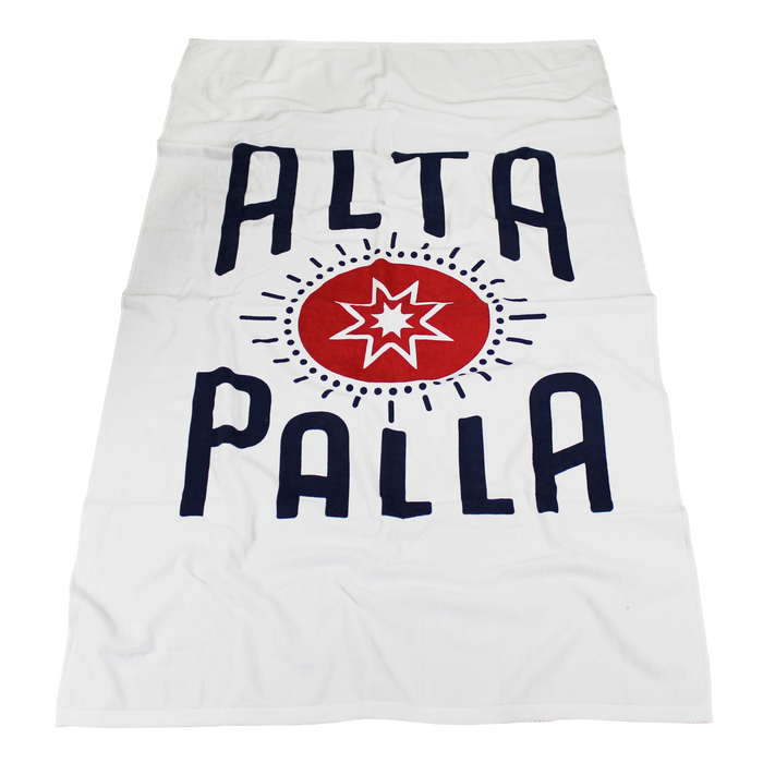 Kai White Beach Towel