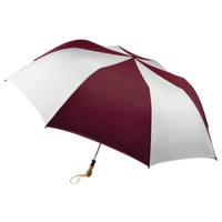 Burgundy/White Leo Umbrella Thumb