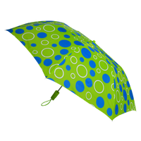 Green/Blue Circles Andromeda Umbrella Thumb