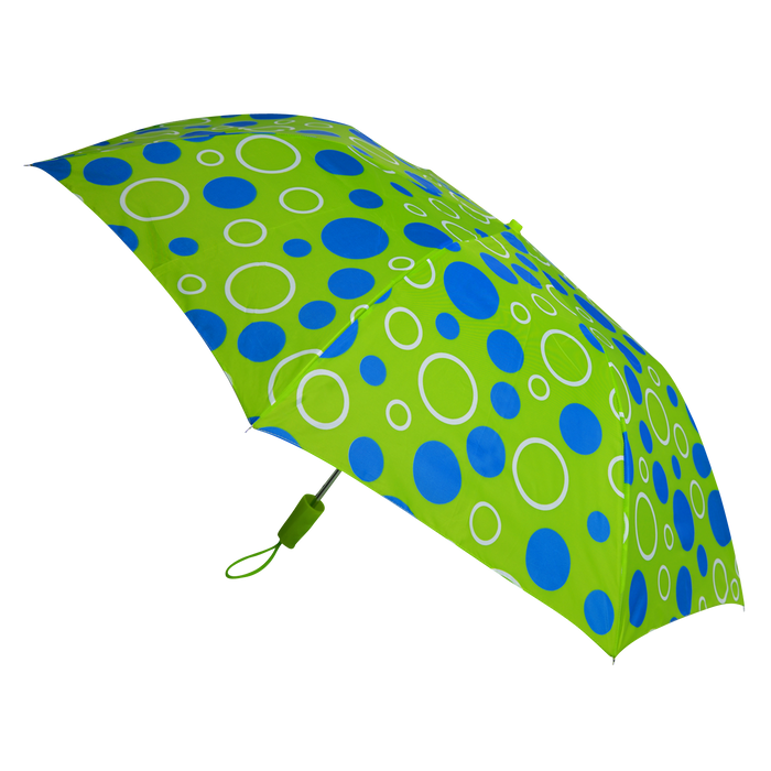 Green/Blue Circles Andromeda Umbrella