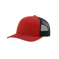 Red/Black Richardson Trucker Snapback Hat Thumb