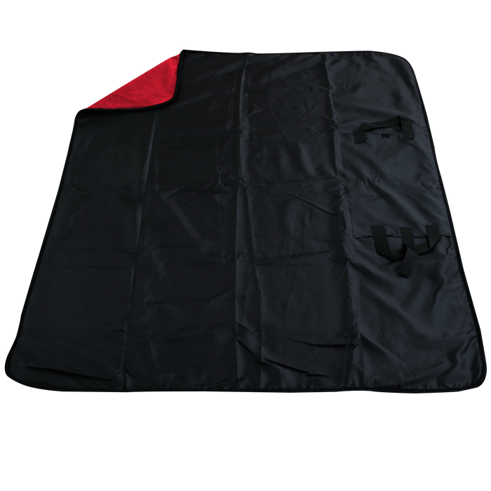 Red Traveler Fleece Picnic Blanket