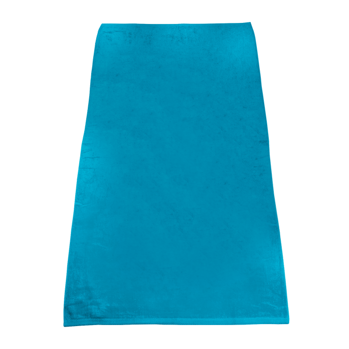 Turquoise Classic Color Beach Towel