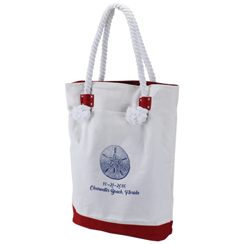 Catamaran Canvas Beach Tote