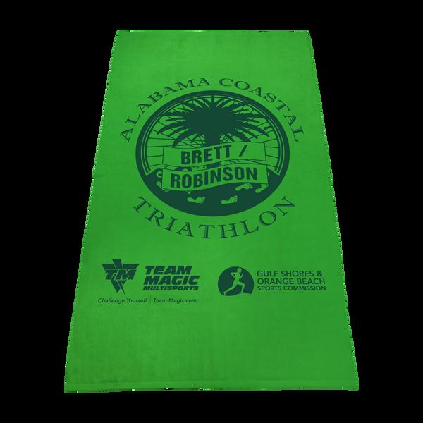 imprinted beach towels,  color beach towels,