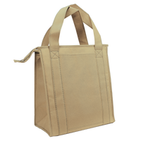Light Khaki Standard Insulated Cooler Tote Thumb